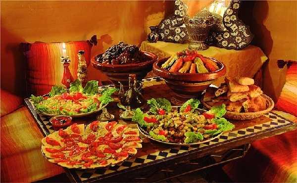 Recettes pour un Buffet marocain