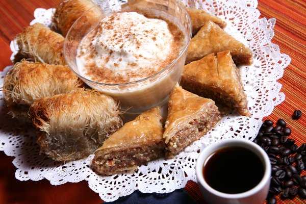 Baklawa à la crème de café