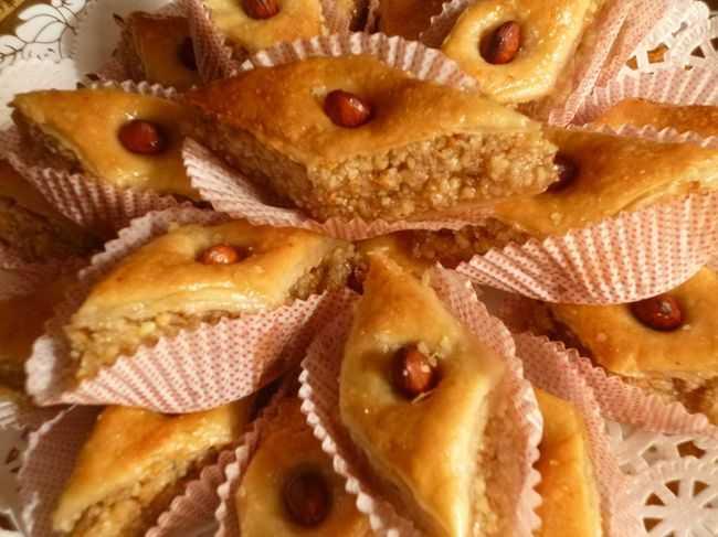 Baklawa aux noix