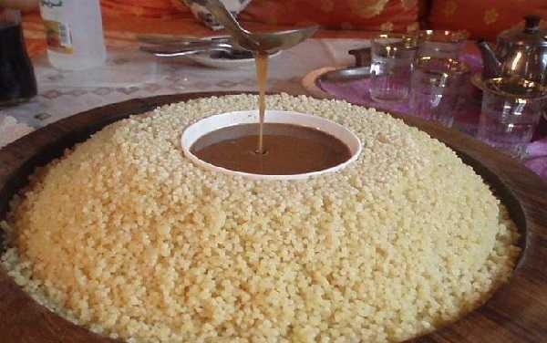 Couscous à l'Amlou