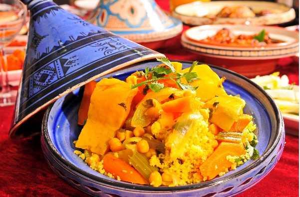 Couscous à la dinde et légumes