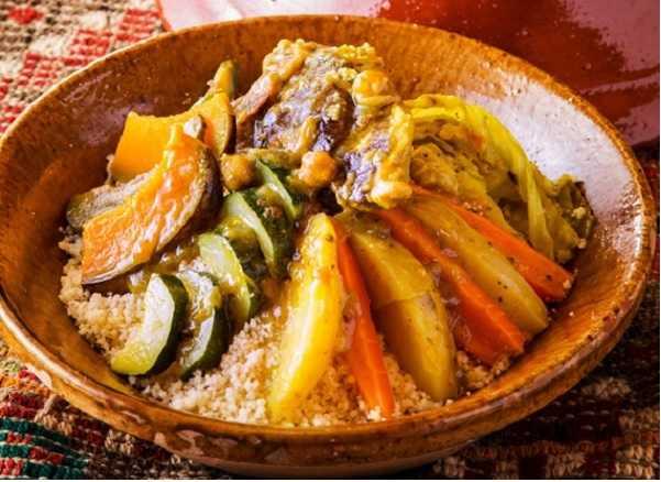Couscous au gigot et légumes