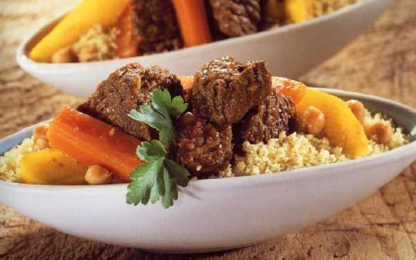 Couscous au jarret de veau et aux légumes
