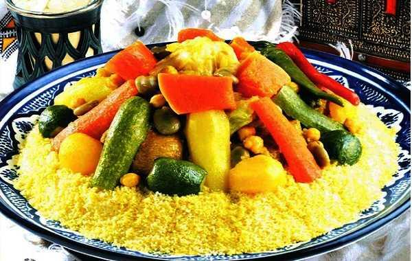 Couscous au khlii aux sept aux légumes