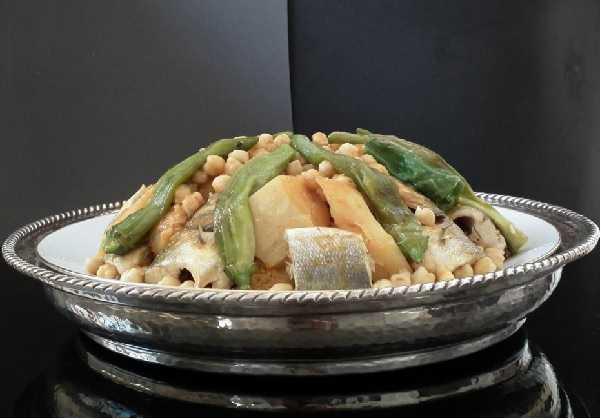 Couscous au mérou
