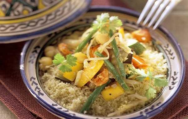 Couscous aux légumes et à l?harissa