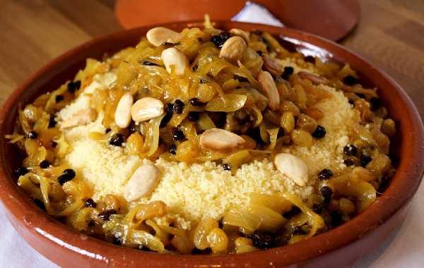 Couscous de Rabat au congre tfaya