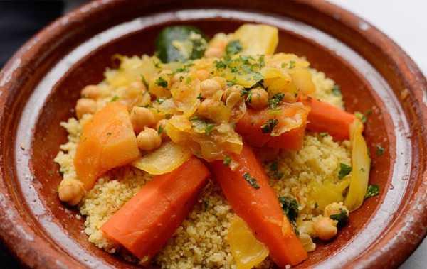 Couscous kabyle aux cardes et viande