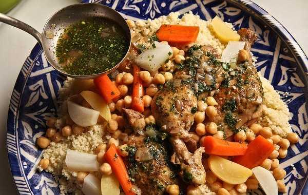 Couscous kabyle au poulet