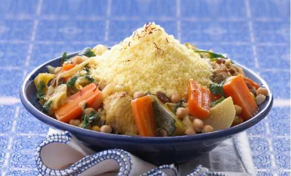 Couscous Marocain au poulet