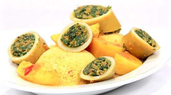 Couscous Tunisien aux calamars