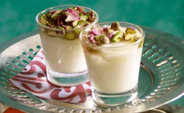 Crème de riz au lait- Mhalbi