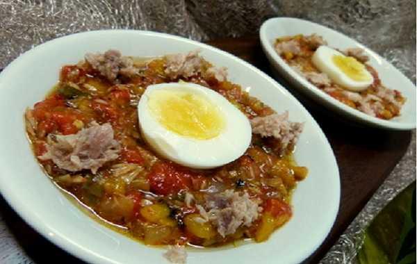 Felfel mssayer- Poivrons à l'huile d'olives