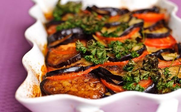 Gratin d'aubergine et pommes de terre