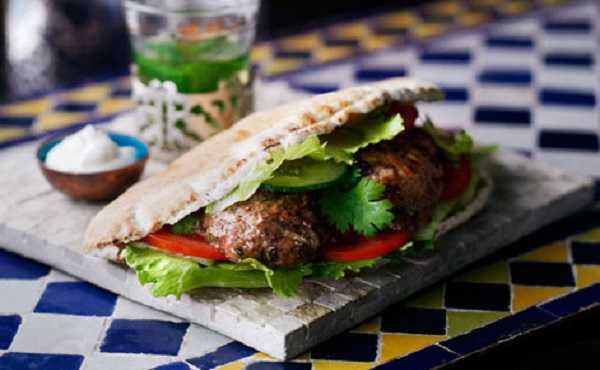 Kebab d'agneau