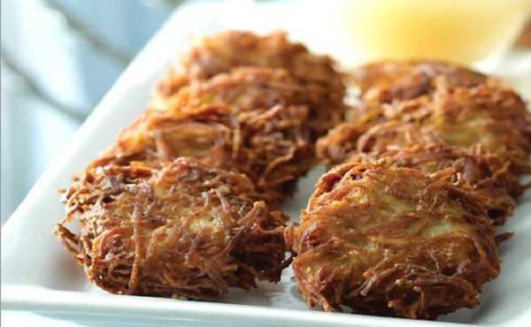 Latkes aux Patates Douces