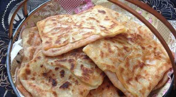 Mhajeb - Crêpes algeriennes farcies