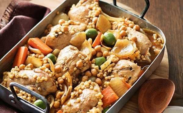 Mhamsa, petits plomds au poulet