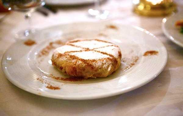 Mini Pastilla au fromage de chèvre et fruits secs