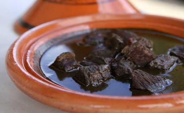 Mloukhia - Ragoût à la poudre de corète