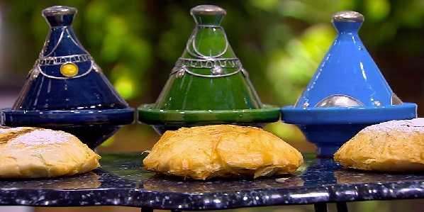 Pastilla au poulet et aux courgettes