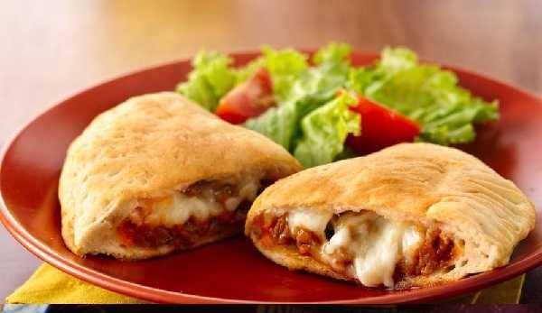 Pizza Calzone à l'oeuf