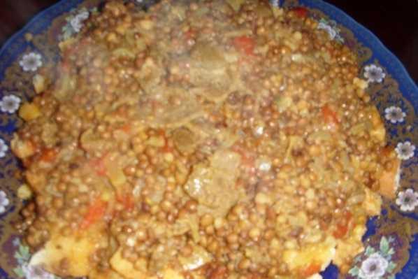 Rfissa au pain rassi-rfissa al3amya