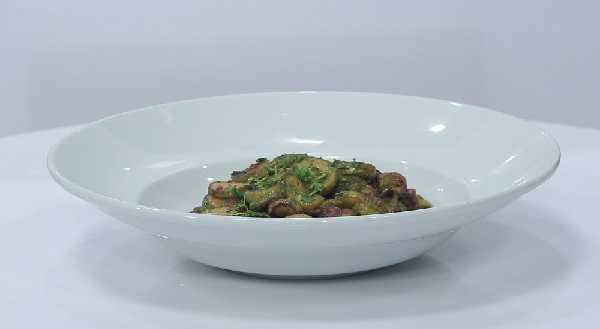 Salade de courgettes à la Marocaine