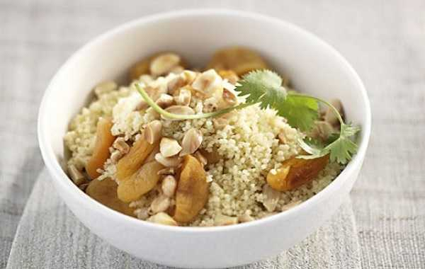 Couscous aux fruits secs