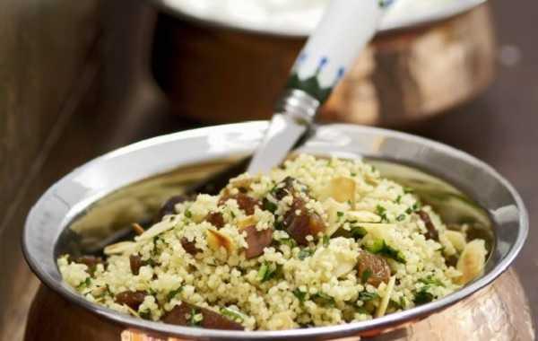 Salade de couscous aux raisins secs