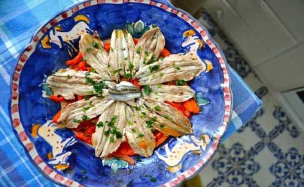 Salade de poivrons aux anchois