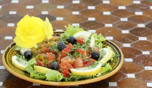 Salade Mechouia grillée