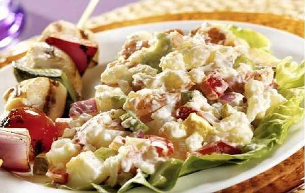 Salade de navets en sauce
