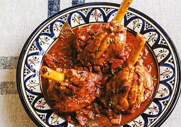 Tajine d'agneau au curry