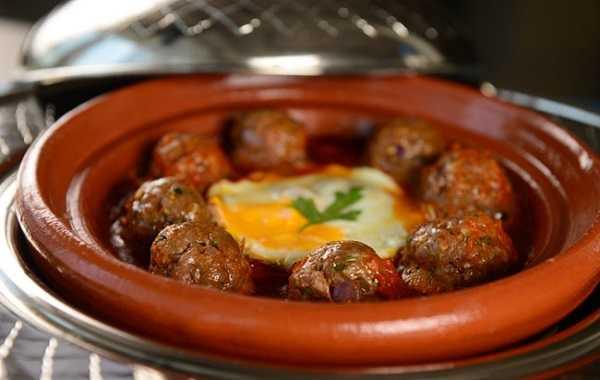 Tajine de boulettes d'agneau (kefta)