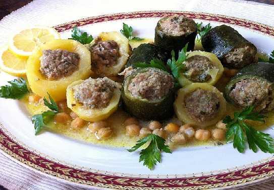 Tajine de légumes farcis-Dolma