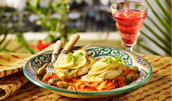 Tajine de panga aux légumes