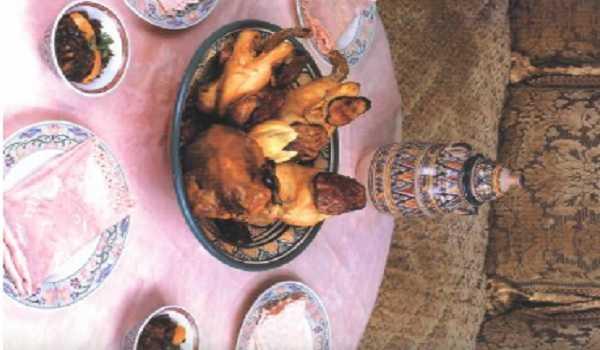 Tajine de poulet aux aubergines