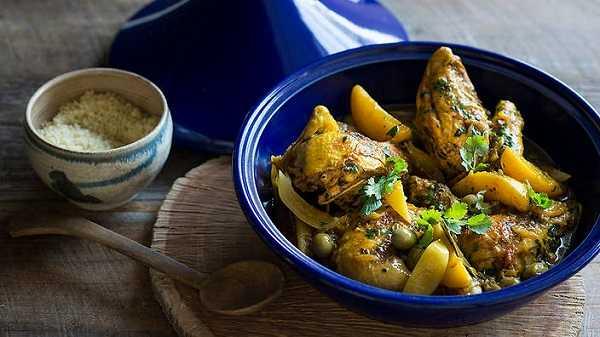 Tajine de poulet batata