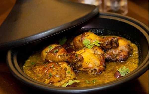 Tajine de poulet d'Essaouira