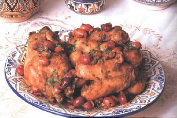 Tajine de poulet  de Fés
