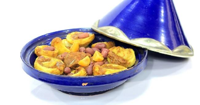 Tajine de veau aux artichauts