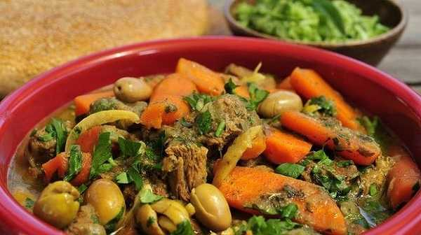 Tajine de viande aux carottes