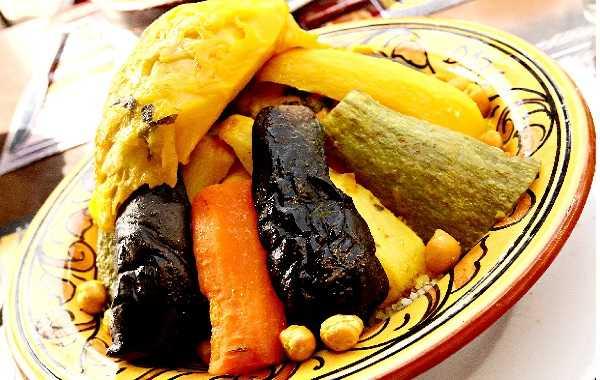 Cousous aux 7 légumes