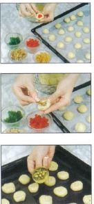 1-preparation-ghribas-noix-fruits-confits