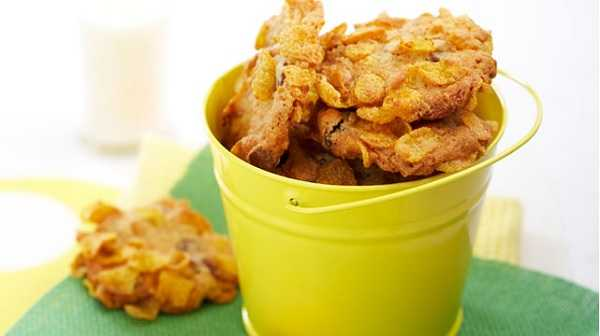 Cookies aux corn-flakes