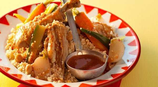 Couscous au poulet express