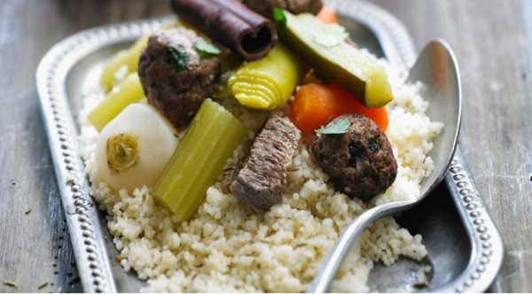 Couscous aux boulettes de keftas