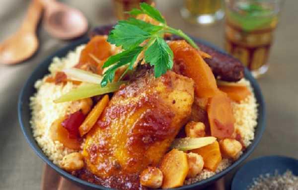 Couscous poulet et merguez