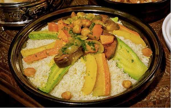 Couscous sauce blanche